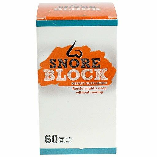 SnoreBlock 60 capsules