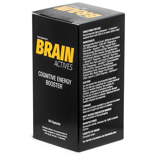 Brain Actives 60 caps