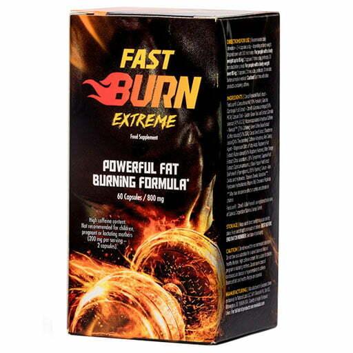 Fast Burn Extreme 60 caps