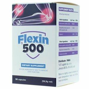 Flexin500 - likwidacja bólu i regeneracja stawów