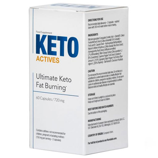 Keto Actives 60 caps