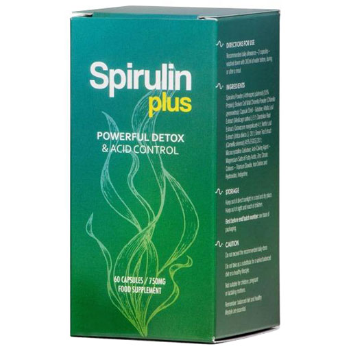 Spirulin Plus 60 capsules
