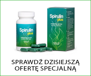Spirulin Plus – spirulina i chlorella plus ekstrakty ziołowe